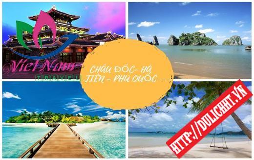 Tour Châu Đốc - Hà Tiên - Phú Quốc 4 ngày 3 đêm