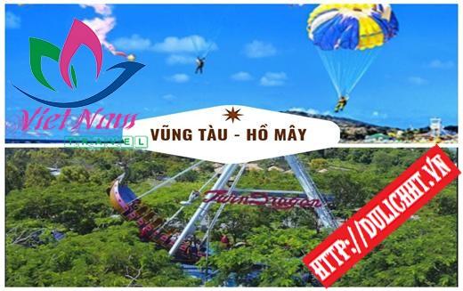 Tour Vũng Tàu - Hồ Mây 2 ngày 1 đêm