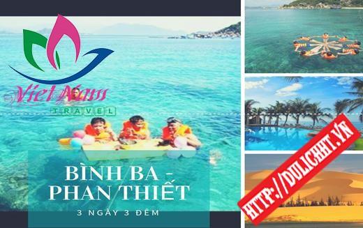 Tour Bình Ba - Phan Thiết 3 ngày 3 đêm