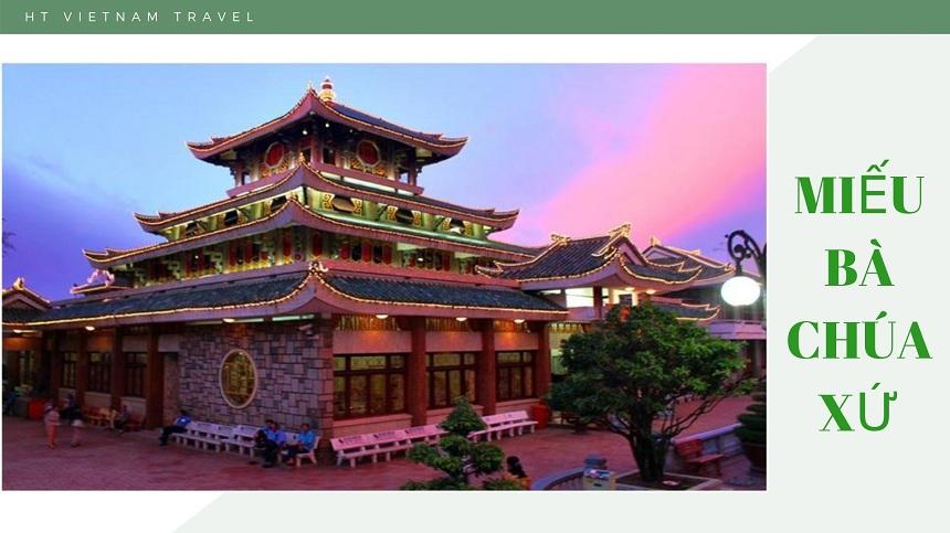 Tour Châu Đốc - Hà Tiên - Cần Thơ