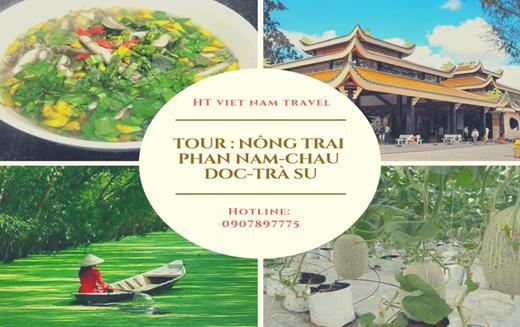 Tour Nông Trại Phan Nam - Châu Đốc - Trà Sư