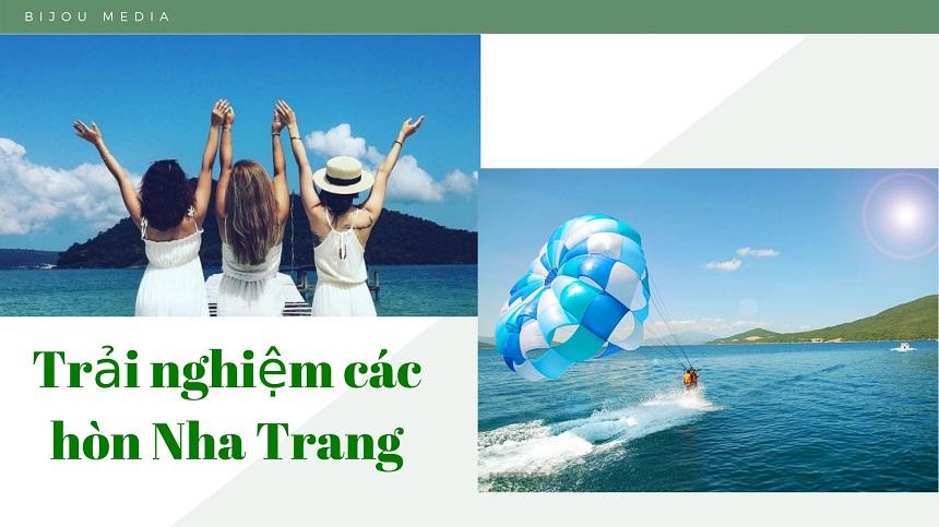 Tham quan các hòn Nha Trang