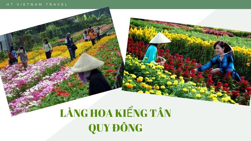 Tour Đồng Tháp - làng hoa Sa Đéc