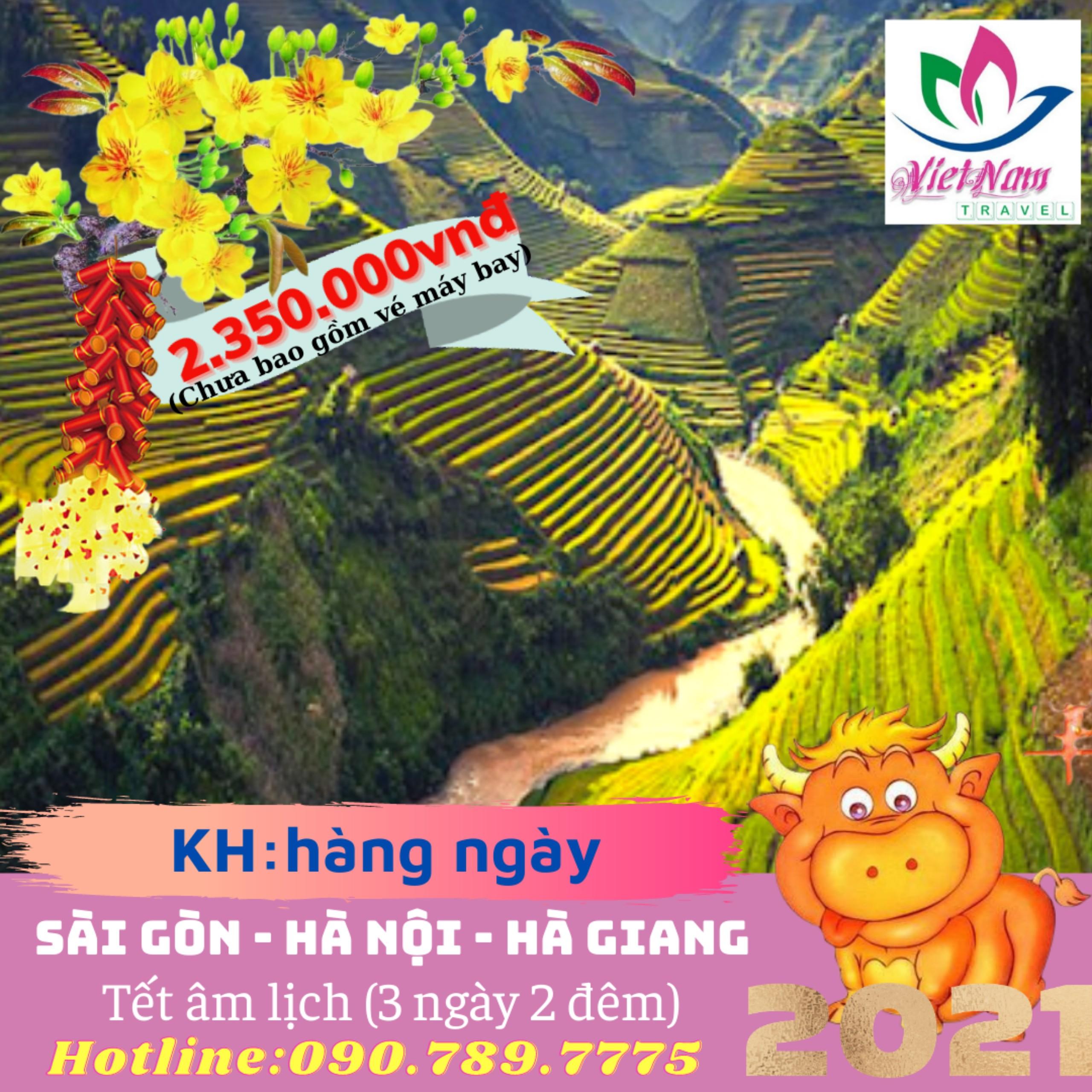 TOUR HÀ NỘI - HÀ GIANG