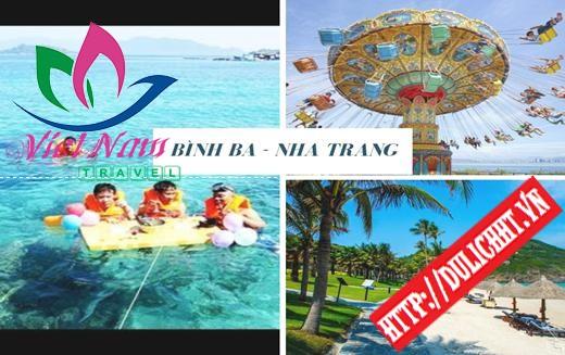 Tour Bình Ba - Nha Trang 3 ngày 3 đêm