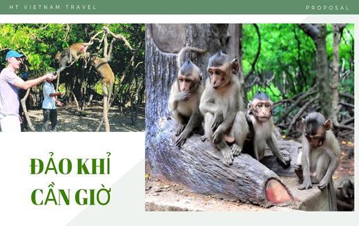 Tour Cần Giờ - Đảo Khỉ 1 ngày
