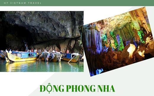 Tour Sài Gòn - Huế - Quãng Bình - Quãng Trị