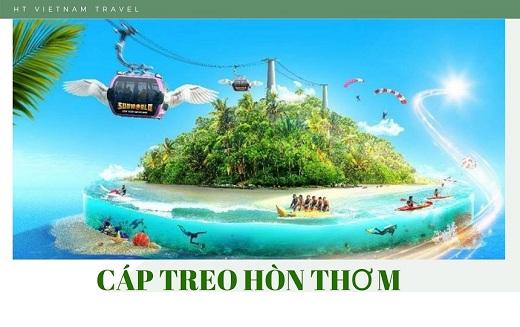 Tour Phú Quốc - Cáp treo Hòn Thơm