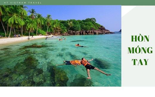 Tour Phú Quốc - Hòn Móng Tay 3 ngày 2 đêm