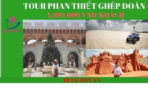 Tour Phan Thiết 2 ngày 1 đêm ghép đoàn
